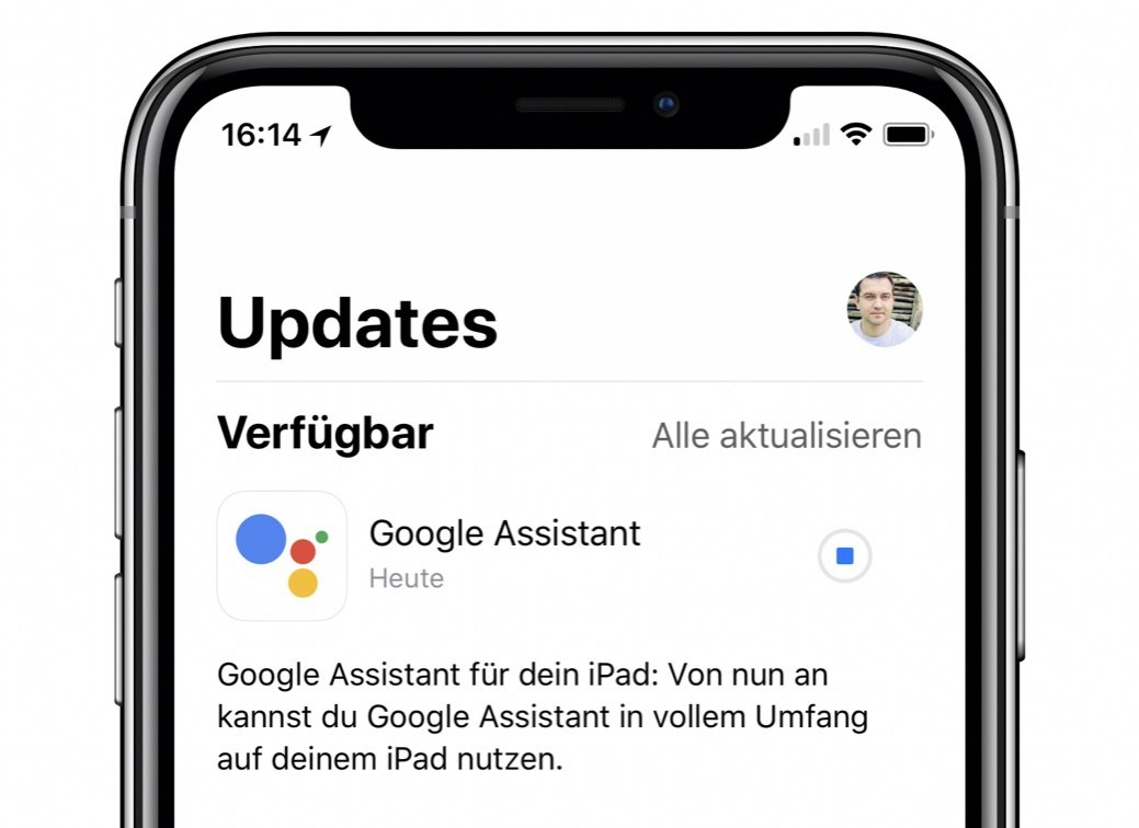 Google Assistant Ipad Update
