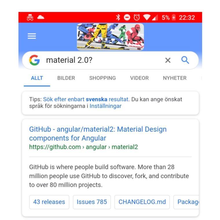 Google Suche Mobile Neu