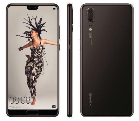 Huawei P20 Braun
