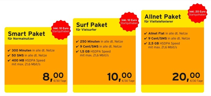 Img Congstar Mehr Telefonminuten Und Daten Beim Prepaid Surf Paket