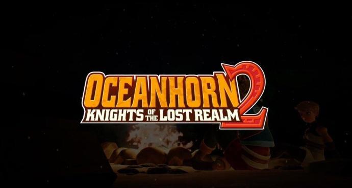 Oceanhorn 2 Logo Header