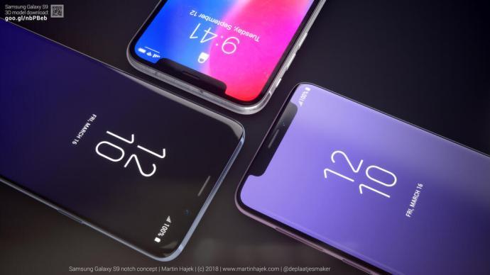 Samsung Galaxy S9 Notch 1