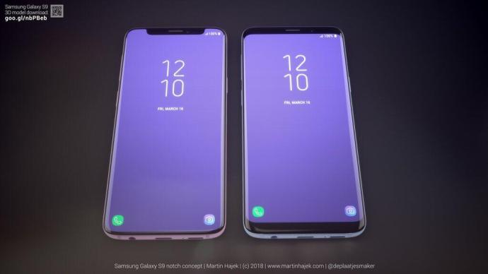 Samsung Galaxy S9 Notch 4