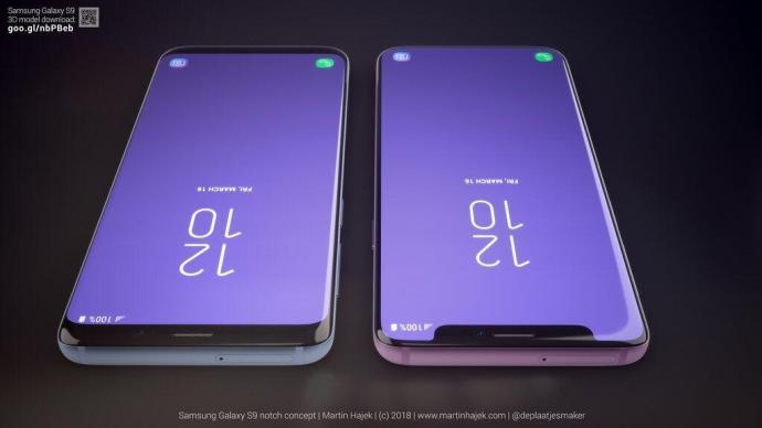 Samsung Galaxy S9 Notch 5