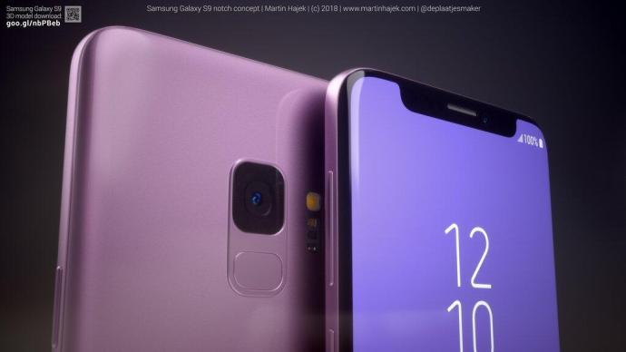Samsung Galaxy S9 Notch 8
