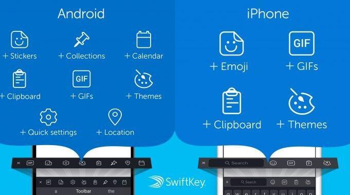 Swiftkey 70 Android Ios