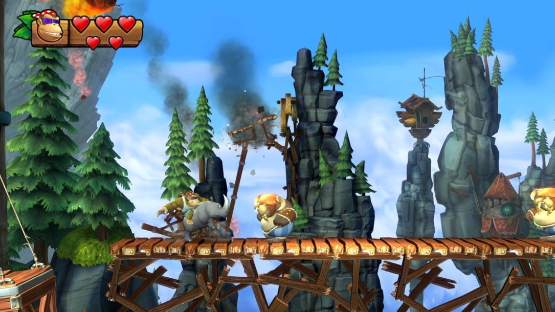 Donkey Kong Country Tf Screen1
