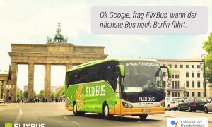Flixbus Integration Google Assistant