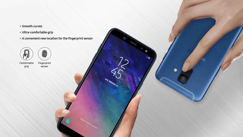 Galaxy A6 Finger
