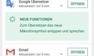 Google Play Store Changelog