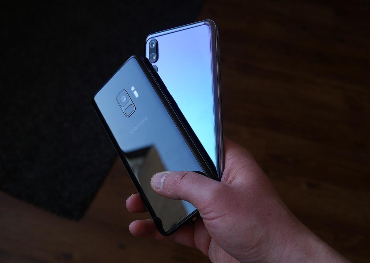 Huawei P20 Pro Samsung Galaxy S9 Header