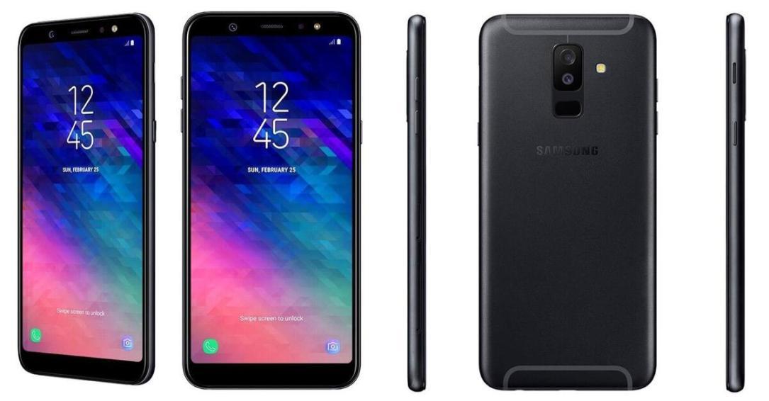 Samsung Galaxy A6 Plus Schwarz