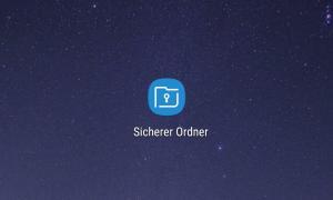 Samsung Sicherer Ordner