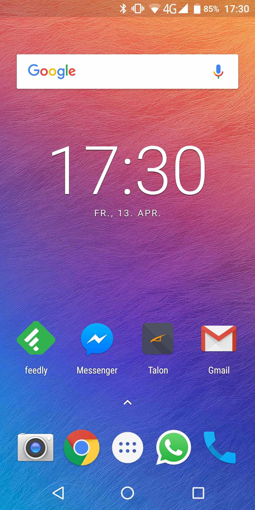 Ulefone Power 3 Homescreen 1085