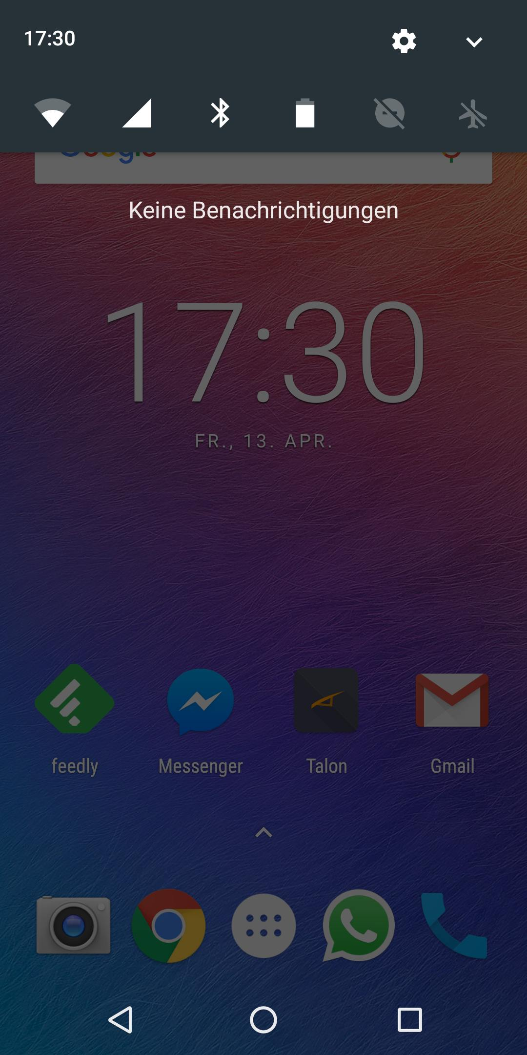 Ulefone Power 3 Notifications 1085
