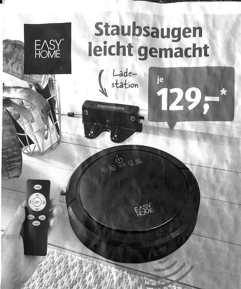 Easy Home Saugroboter Aldi Sued