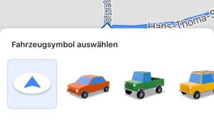 Google Maps Autos