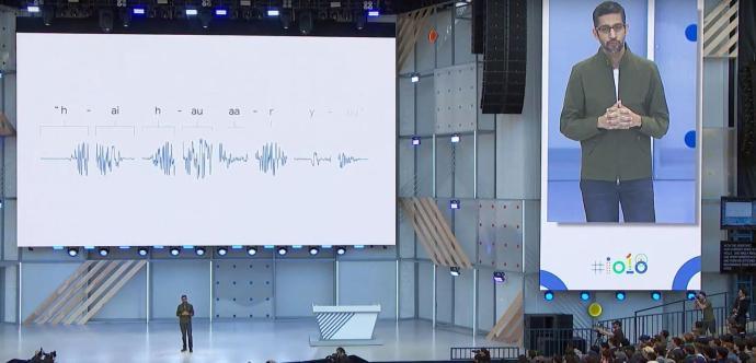 Google Io 2018 Assistant Sprachen