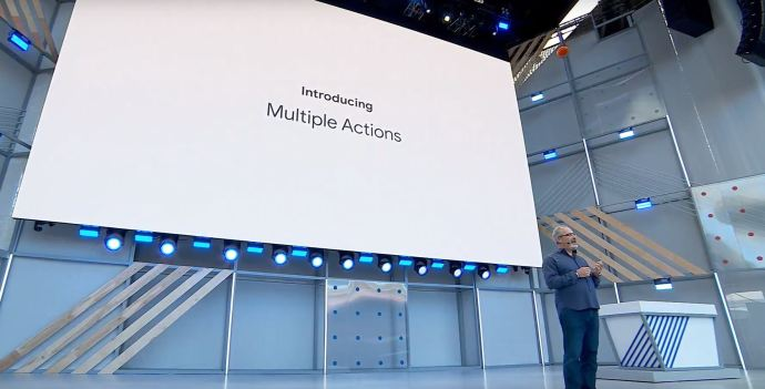 Google Io 2018 Multiple Actions