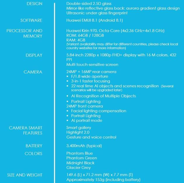Honor 10 Spec Sheet.pdf Adobeacrobatreaderdc 2018 05 17 10.38.25