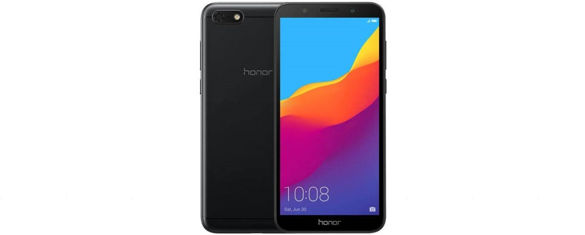Honor 7s Black