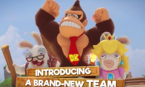 Mario Rabbids Donkey Kong