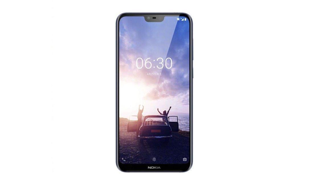Nokia X Front Cut