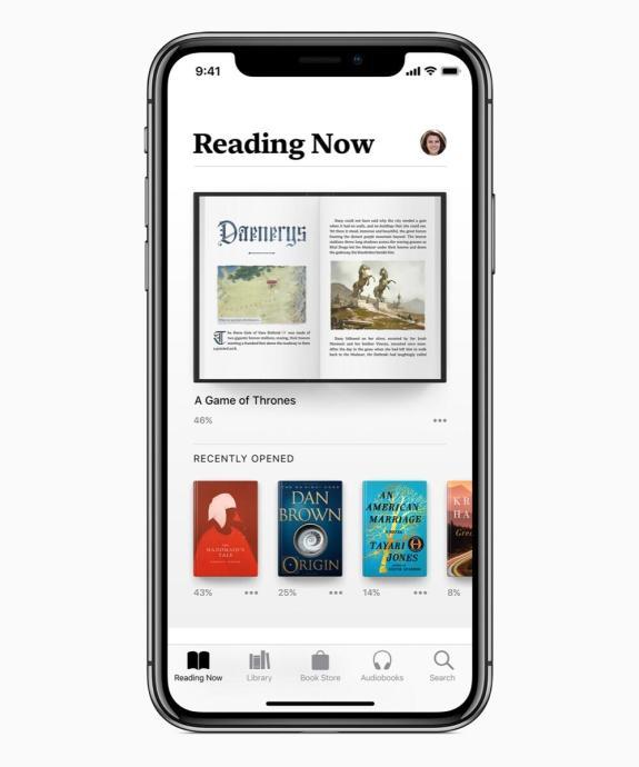 Apple Books Reading Now 06122018