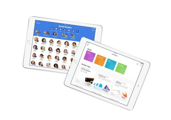 Apple Classsroom Bildung Header