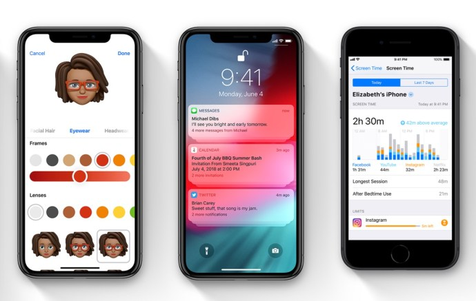 Apple Ios 12 Header