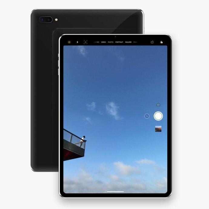 Apple Ipad Pro 2018 Konzept Back