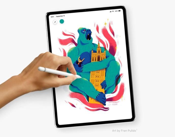Apple Ipad Pro 2018 Konzept Font