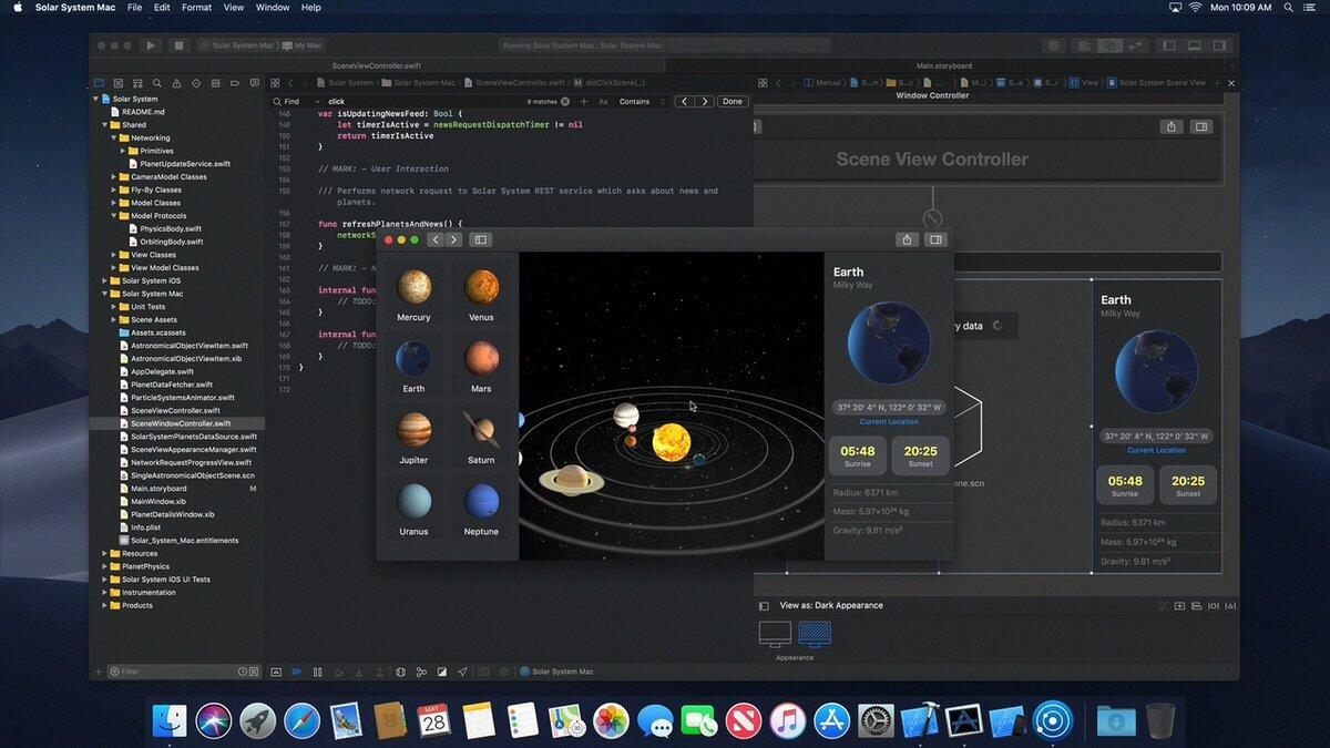 Apple Macos Dark Mode
