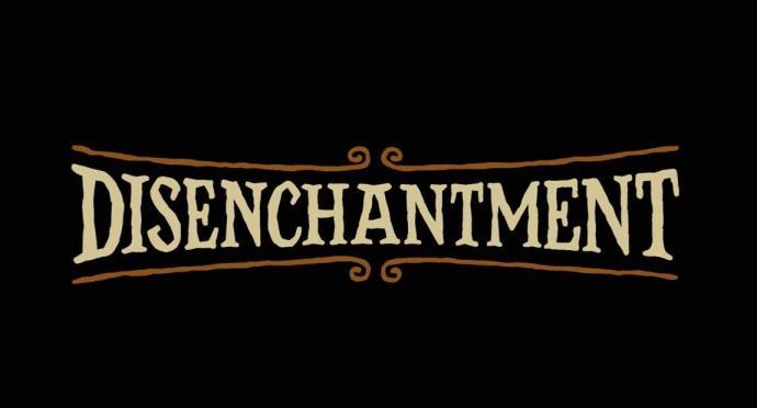 Disenchantment Logo Header