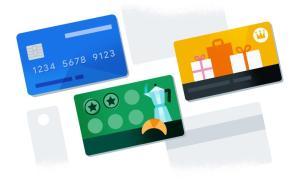 Google Pay Cards Header
