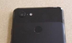 Google Pixel 3 Xl Back