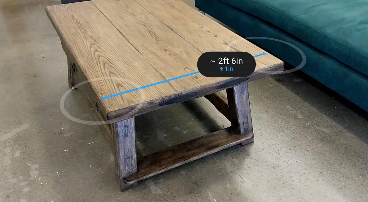 Measure Arcore