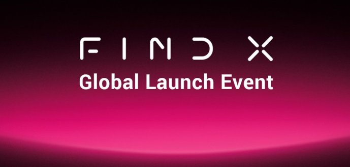 Oppo Find X Invitation Header