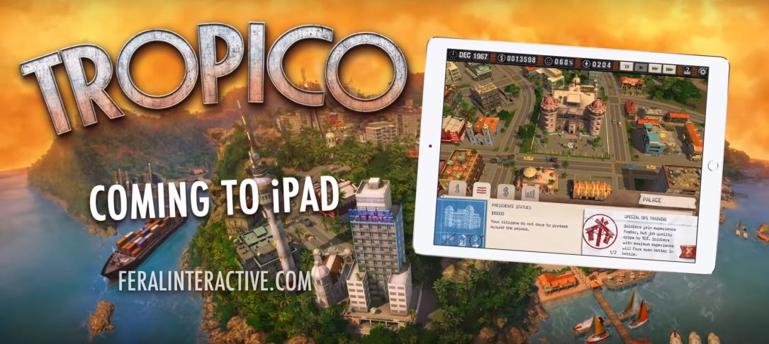 Tropico Ipad Header