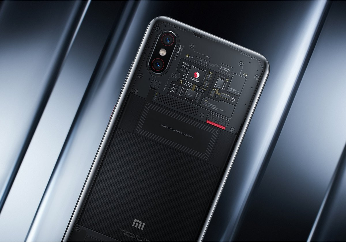 Xiaomi Mi 8 Explorer Edition Detail