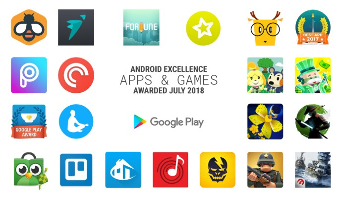 Android Excellence Q3 2018