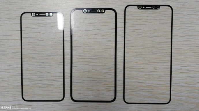 Apple Iphone 2018 Front Panel Back