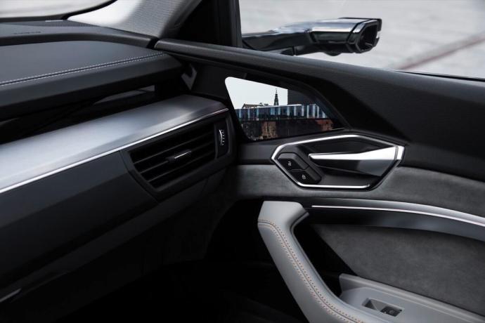 The Interior Of The Audi E Tron Prototype