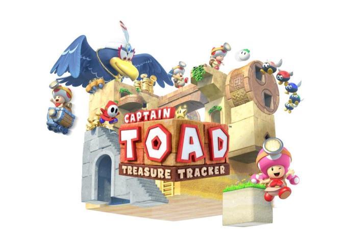 Captain Toad Treasure Tracker Header