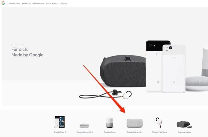 Google Home Max De Store