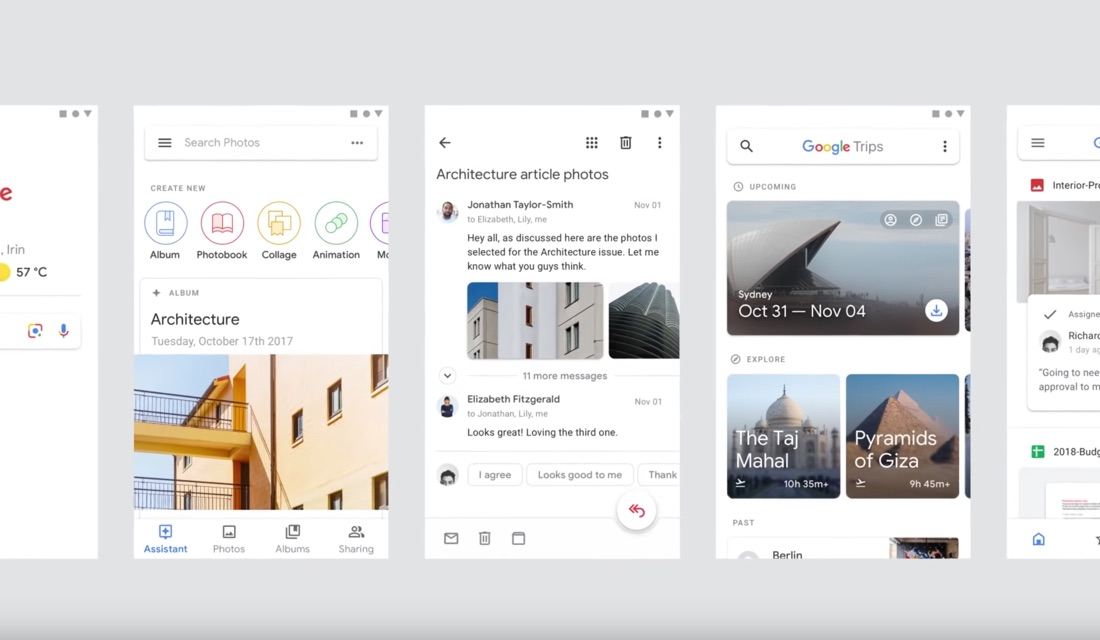 Google Material Design Konzept