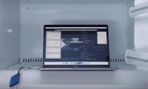 Macbook Pro 2018 Gefrierfach