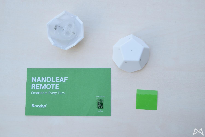 Nanoleaf Remote Lieferumfang