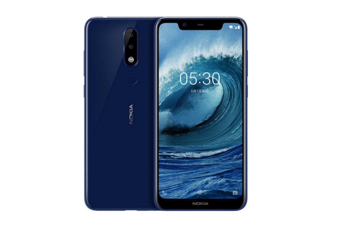 Nokia X5 Header