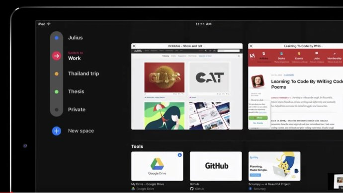 Refresh Browser Konzept
